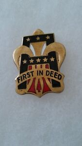 Authentic-US-First-1st-Army-Unit-DI-DUI-Insignia-Crest-D22
