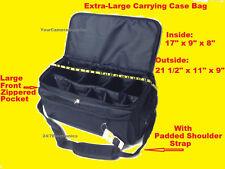 EXTRA LARGE SIZE TO DIGITAL CAMERA CAMCORDER HANDYCAM =  Carry/Shoulder CASE BAG