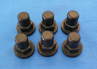 Honda Cr 500r Billet Cylinder Head Nut Nuts Engine Black Acorn 7pk Bdt Motor Oil