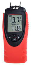 Moisture Meter By Ennologic Digital Lcd Pin Type 7 Material Settings Use