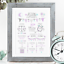 Personalised-Birth-Print-for-Baby-Boy-Girl-New-Baby-Gift-or-Christening-Present thumbnail 74