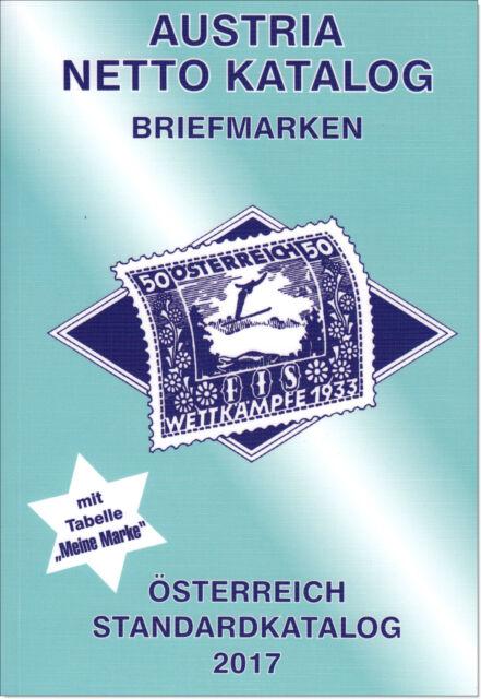 Austria Netto Katalog, Briefmarken, 2017, Neu mit OVP