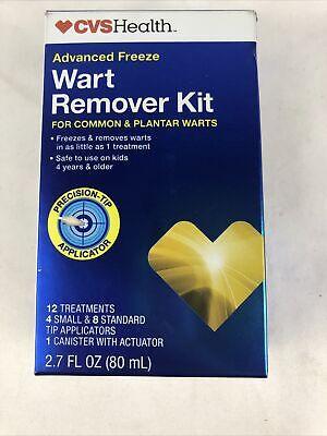 Cvs Advanced Freeze Wart Remover Kit 12 Treatment 4 small ...