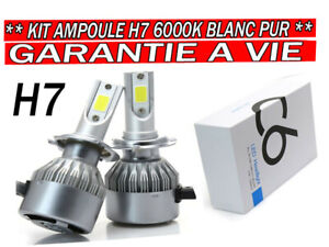 KIT-AMPOULES-LED-H7-6000K-72W-BLANC-PUR-AUTO-MOTO-7600-LUMENS-FEU-PHARE-XENON