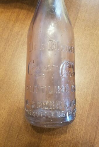 19001915 CocaCola Bottle
