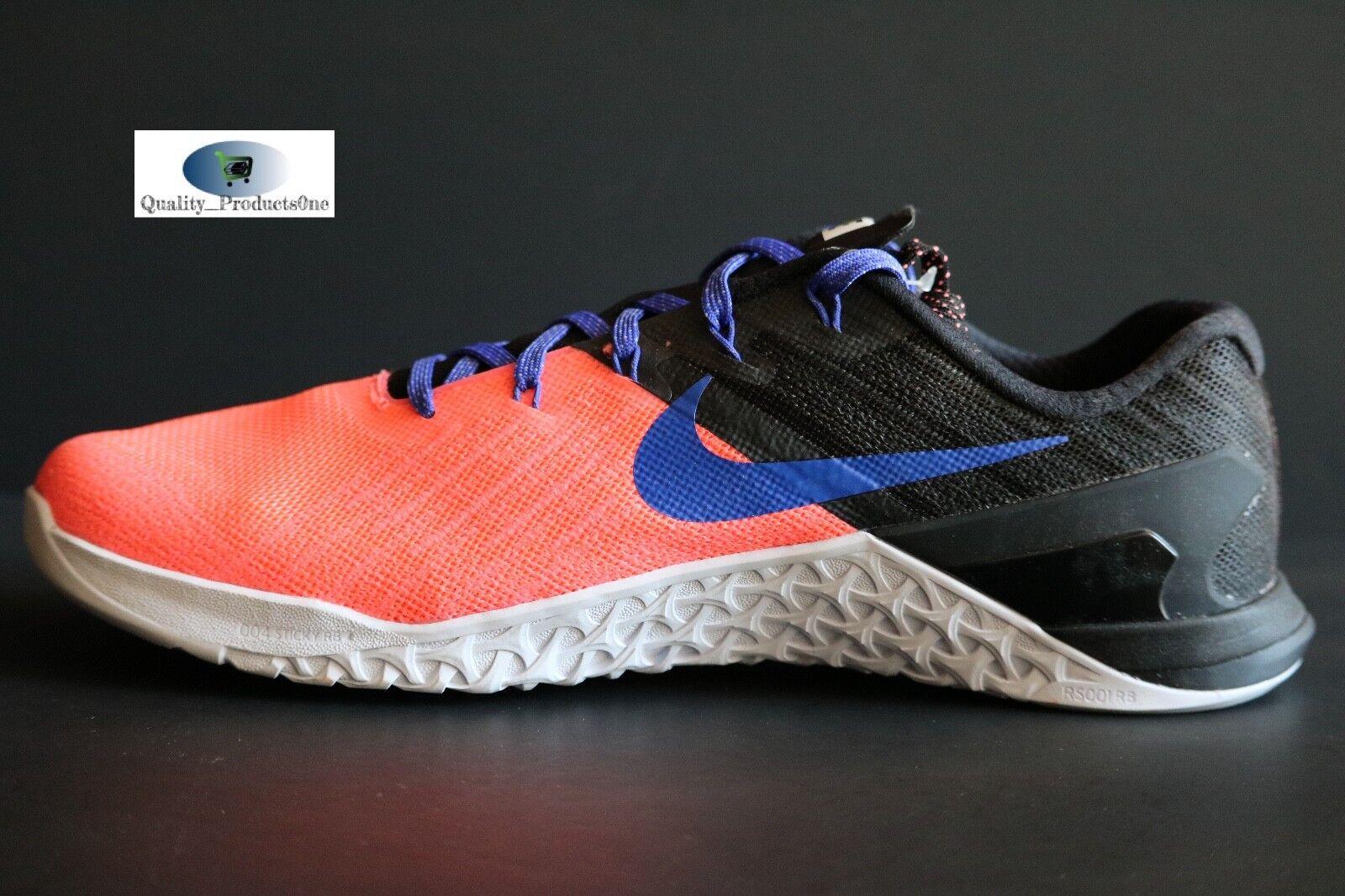 2583c3494cb6d ... WOMEN S Nike Metcon 3 Lava Glow Blue Black 849807 600 Sz Sz Sz 11 ...