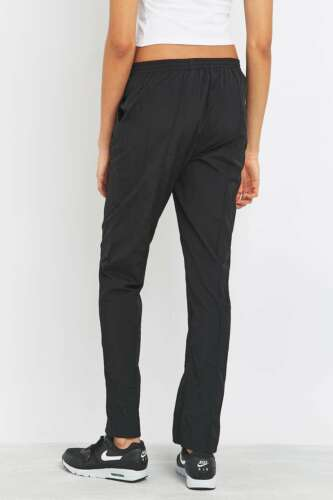 New Black RRP £59 Urban Outfitters LBD Zip Joggers Tracksuit Bottoms XS