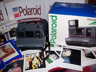 Cooperativa Cámara Polaroid Impulse Retrato En Caja Raro + Película Regalo Ideal!!! Ganancia PequeñA
