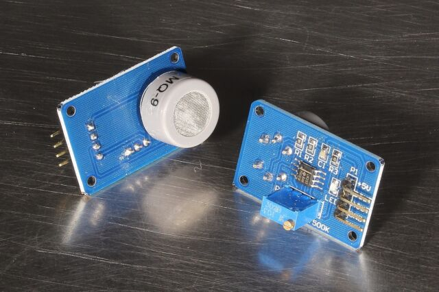 MQ9 MQ-9 Carbon Monoxide Combustible Gas Sensor Detector Module Arduino