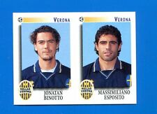 CALCIATORI PANINI 1997-98 Figurina-Sticker n. 597 -BINOTTO-ESPOSITO VERONA-New