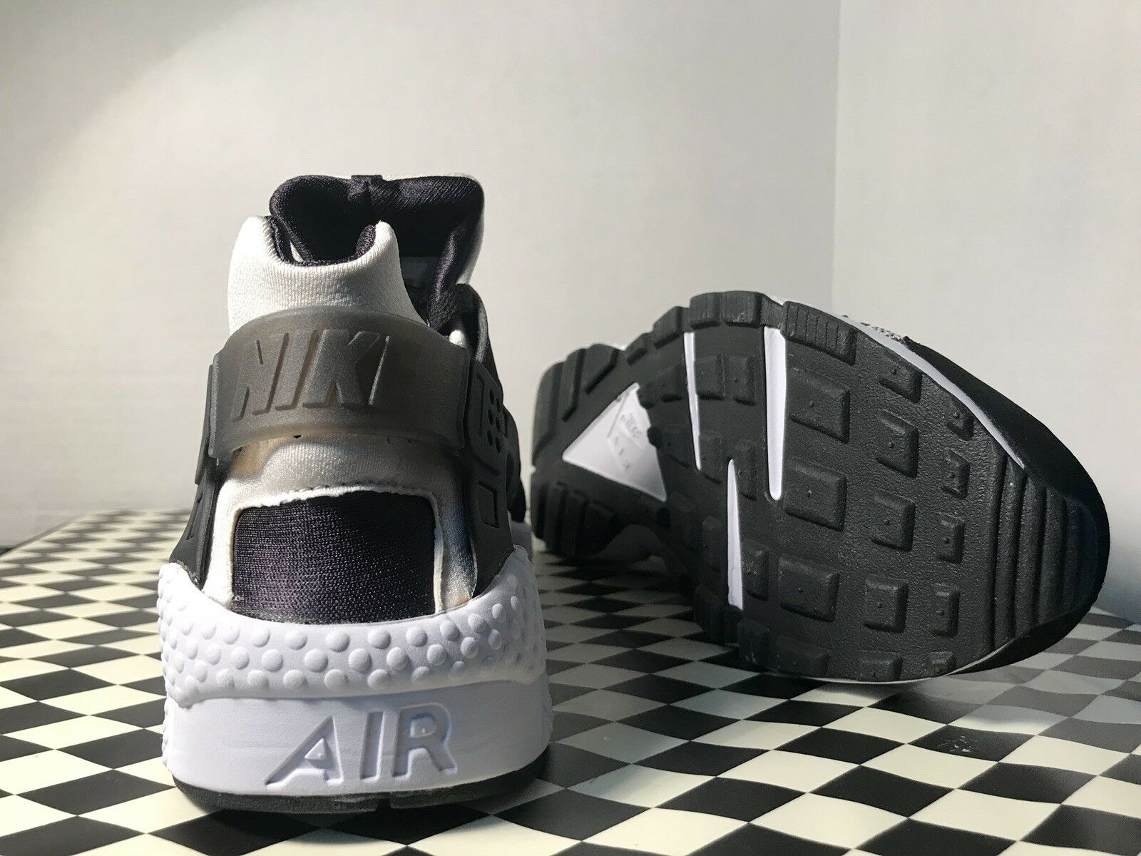 Nike Huarache Run 8.5 Pa 8.5 Run Black White Digital Camo  presto Off White 705008 011 7f908a