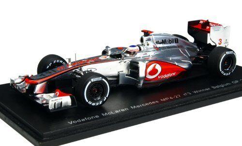 McLaren mp4-27 J. Button 2012  3 Winner Belgium Gp 1 43 Model s3046 SPARK MODEL