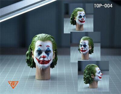Joker Joaquin Phoenix Head Sculpt TOP-004 Makeup Ver 1//6 Fit 12/'/' Action Figure