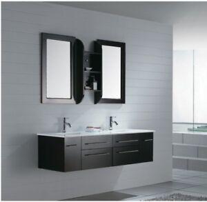 Bathroom Vanity Modern Bathroom Vanity Set Double Sink Milano Iv 59 640265208164 Ebay