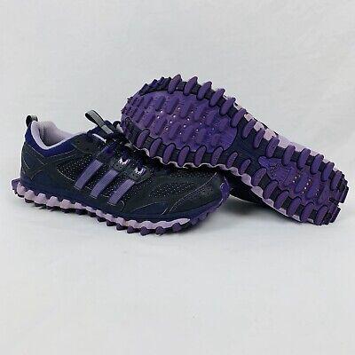 Adidas Incision TR Womens Sz 10 Trail Running Shoes YYA606001 Black/Purple   eBay