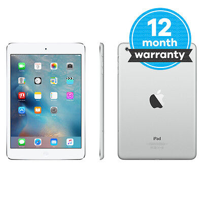 Apple iPad mini 2 32GB, Wi-Fi, 7.9in - Silver Very Good Condition