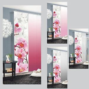 Blossom-Orchidee-Bluete-Schiebegardine-Raumteiler-Home-Wohnideen-Schmidtgard
