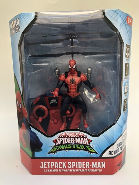 Marvel Spider-Man Flying Figure Hélicoptère
