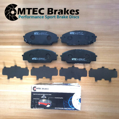 BMW 3 E92 330i 09//06-12//13Front Brake Discs /& MTEC Premium Brake Pads