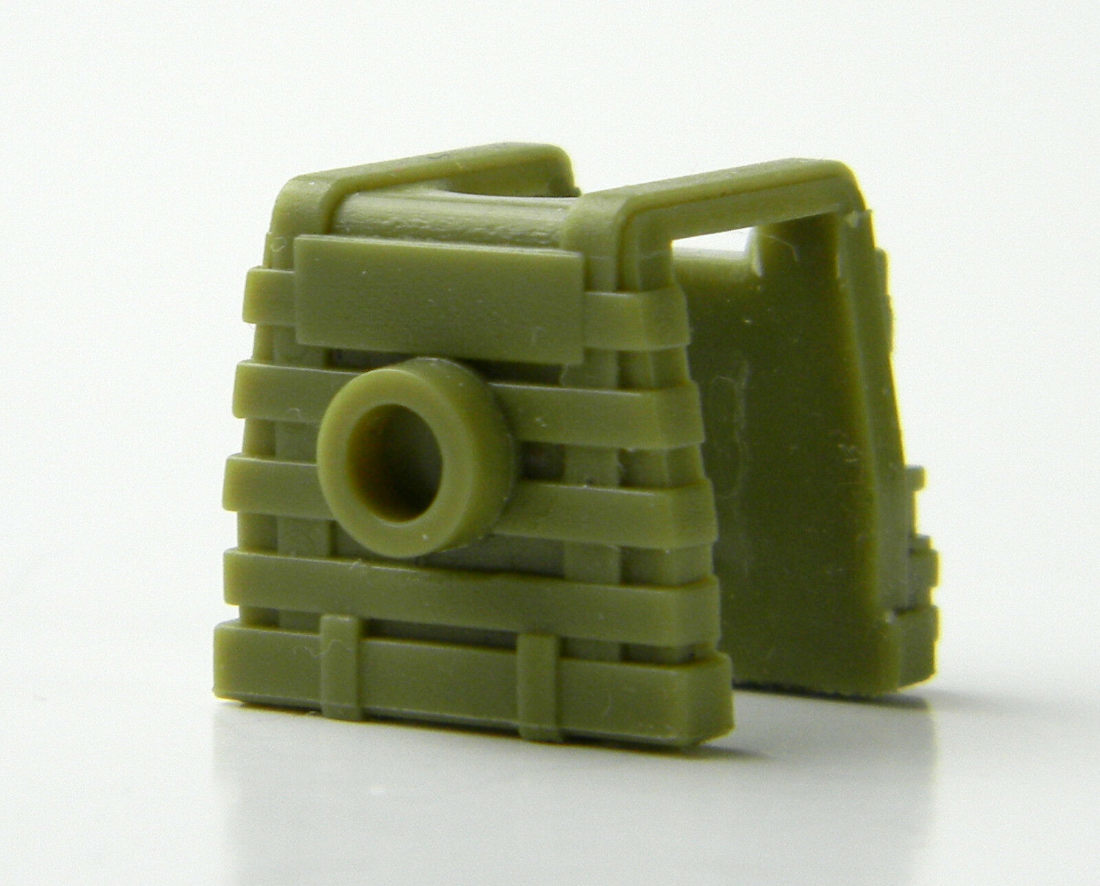 Tactical Vest Compatible with toy brick minifigures SWAT W115 Light Olive P1