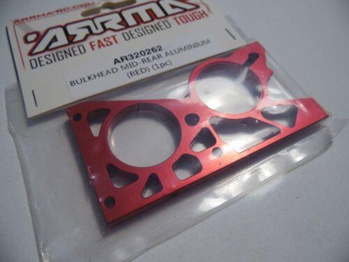 FAZON ARRMA AR320262 Bulkhead Mid-Rear Aluminium  Red  NERO