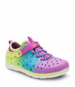 621b9e04e7ed Stride Rite Made To Play M2P Phibian Girls Strap On Sneakers SZ 6 ...