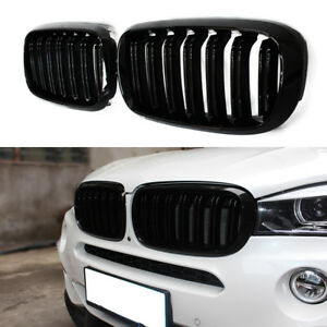 Details about GLOSS BLACK KIDNEY M-STYLE FRONT GRILL FOR BMW X5 F15 X5M F85  X6 F16 X6M F86 NEW