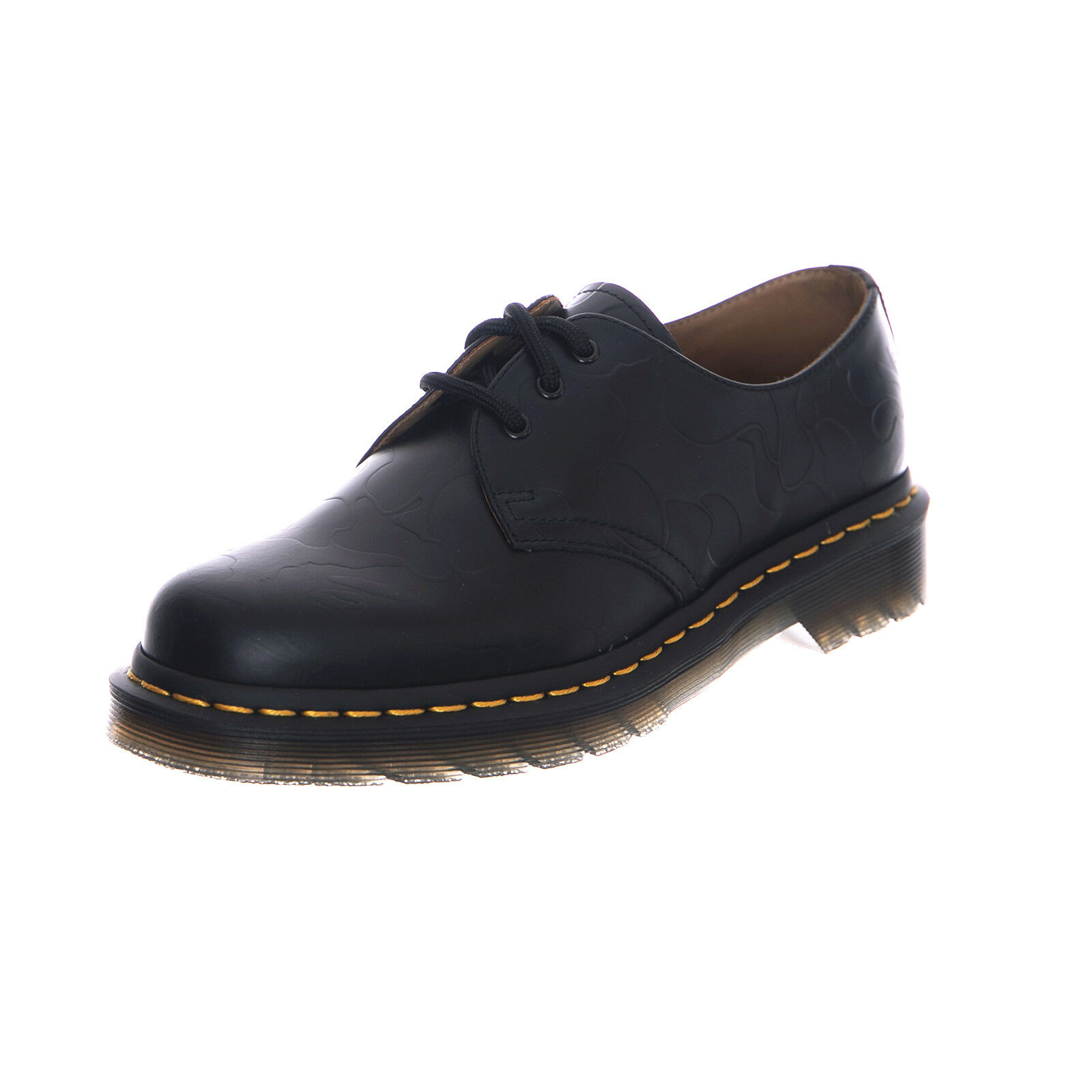 Dr.Martens zapatillas 1461 Bape negro Smooth Emboss Low Profile negro