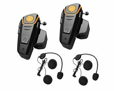 Yideng 2 x 800m Universal Water Resistant Bluetooth Helmet Headset - Imported