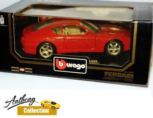 Bburago Ferrari 456 GT 1992 Die-cast Model Car - Scale 1 18