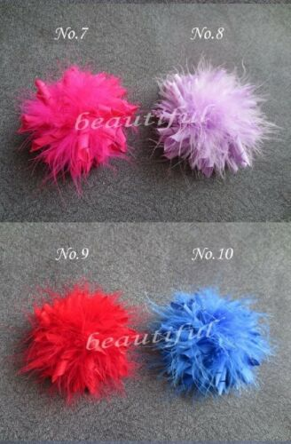 """16 Good Girl 3.5/"""" Feather Corker Hair bow 130 style Pin Clip Barrette Hairbow"""