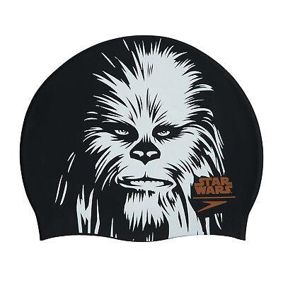 FäHig Speedo Star Wars Chewbacca Slogan Print Adult Swimming Cap Noch Nicht VulgäR