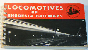 VTG-039-LOCOMOTIVES-OF-RHODESIA-RAILWAYS-039-1970-BOOK-PICTURES-amp-SPECS-POCKET-SIZE