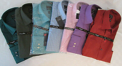 Arrow Fitted Cotton Blend Mens Shirts NWT- Poplin, Sateen, Assrtd Color/Sizes