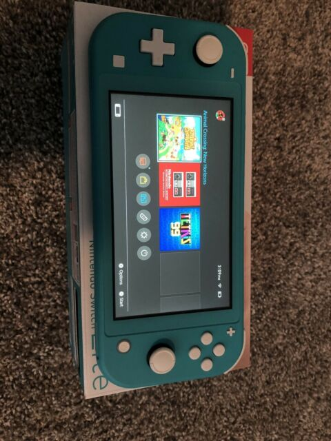 Nintendo Switch Lite Handheld Console - Turquoise With ...