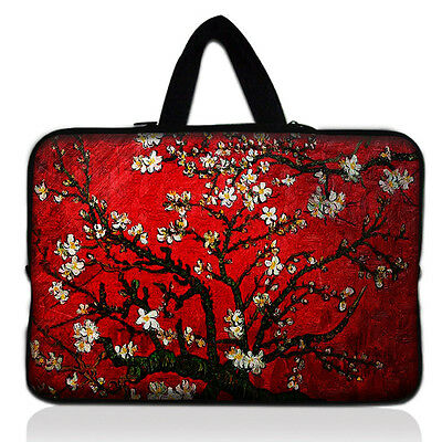 """Laptop Sleeve Case Bag + Hide Handle For 15"""" 15.4"""" 15.6"""" inch Dell HP ACER ASUS"""