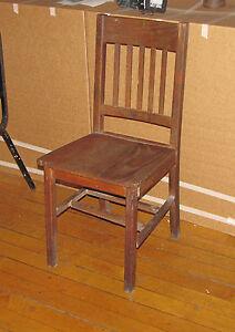 antique mission oak side chair with 1 broken dowel 5990 ebay