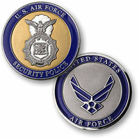 Air Force Security Police Challenge Coin Usaf United States Military Badge Patch