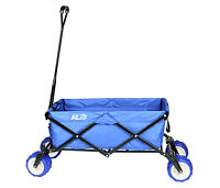 Utility Cart Collapsible Wagon With Wide Durable Wheel For Beach Shopping Garden