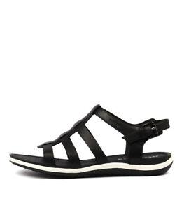 Casual Sandal Geox Sandals J31tlkc5uf Womens A Vega New Shoes Black ukiPXZ