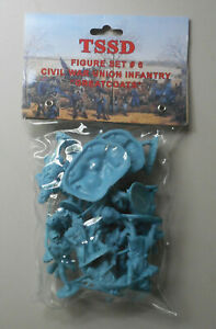 1-32-American-Civil-War-Union-Infantry-Great-Coats-San-Diego-Toy-Soldier-Figures