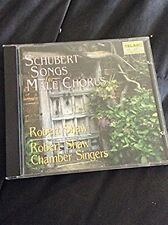 Franz Schubert Songs for Male Chorus CD Robert Shaw Chamber Singers