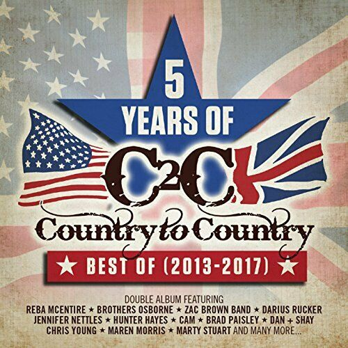 COUNTRY TO COUNTRY 5 YEARS OF BEST OF 2013-2017 (DEL EDT) [CD]