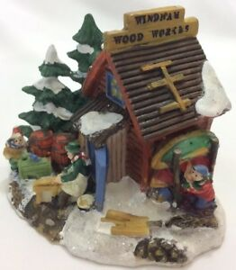 image is loading cobblestone corner christmas village house windham heights wood