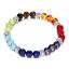 7-Chakra-Bracelet-Lava-Healing-Stones-Beaded-Gemstones-Beads-Elastic-Yoga-Stone thumbnail 63