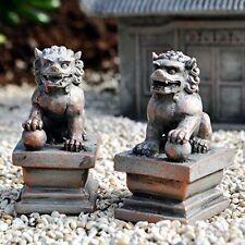 Miniature Fairy Garden Zen Foo Dog Set - Buy 3 Save $5
