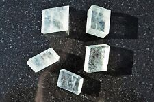 5 CHARGED Natural Rough Optical Calcite Crystals Metaphysical Healing 500cts