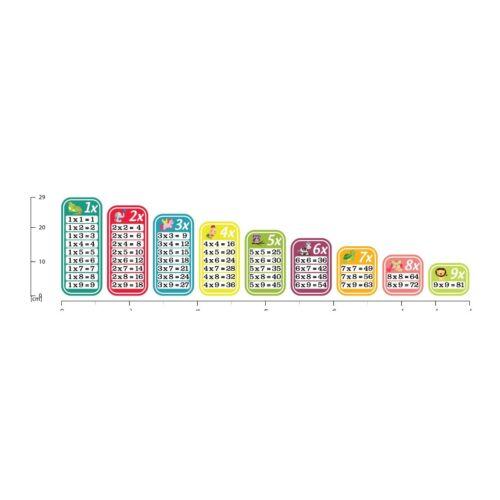 Zeitpläne Mathematikschule Wandtattoo WS-51053