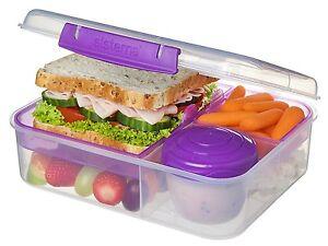 Image Is Loading Sistema 1 65L Bento Lunch Box Tiffin Food