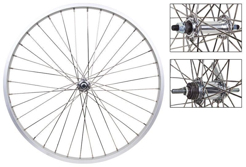 WM Wheels  26x1.75 559x25 Aly Sl 36 Aly Bo 3 8 Shi Cb 110mm 12gss W trim Kit